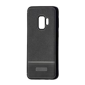 Чехол-накладка DK-Case силикон South Leather Rugged для Samsung S9 Plus (black)