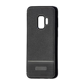 Чехол South Leather Rugged Samsung S9 Plus (black)
