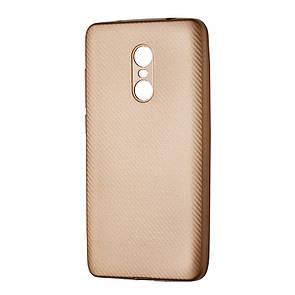 Чехол Carbon Xiaomi Redmi Note 4 (gold)
