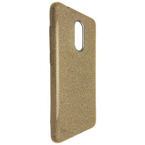 Чехол-накладка DK-Case Silicone Glitter Heaven Rain для Xiaomi Redmi 5 (gold)