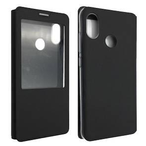 Чехол -книжка силиконе Xiaomi Mi 8 (black)