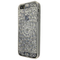 Чехол-накладка DK-Case силикон Lotos 3D для Apple iPhone 5/5S (clear)