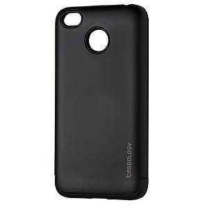Чехол-Накладка DK-Case силикон пластик Caseology Slim Armor для Xiaomi Redmi 4X (black)
