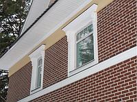 Фасадный декор, монтаж фасадного декора из пенопласта