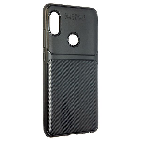 Чехол Autofocus Carbon Glance Xiaomi Redmi Note 5 (black)