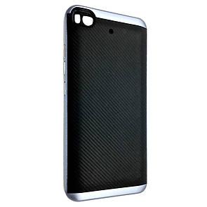 Чехол-Накладка DK-Case силикон с пластик бортом iPaky Cheap для Xiaomi Mi 5S (deep blue)