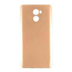 Чехол-накладка DK-Case силикон Шарпей для Xiaomi Redmi 4 (gold)