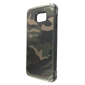Чехол-накладка DK-Case пластик CAMO камуфляж для SAMSUNG NOTE 5 (green)