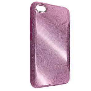 Чехол-накладка DK-Case Silicone Glitter Heaven Rain для Xiaomi Redmi Note 5A (pink)