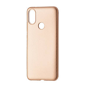 Чехол-накладка DK-Case силикон Carbon для Xiaomi Redmi Note 5 (rose gold)