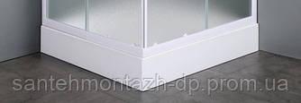 VI`Z квадратный поддон 80*80*15 см, сифон в комплекте