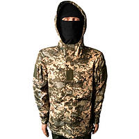 Тактическая куртка Soft Shell светлый пиксель