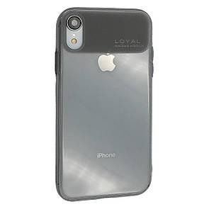 Чехол  Hoco Loyal for Apple iPhone XR (dark)