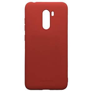 Чехол-накладка силикон Hana Molan Cano для Xiaomi Pocophone F1 (red)