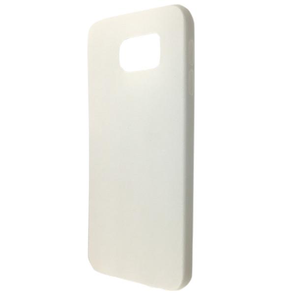 Чехол ultra slim matting TPU SAMSUNG S6 white