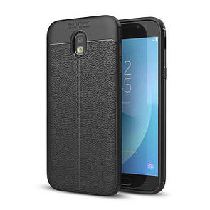 Чехол-накладка DK-Case силикон под кожу Autofocus TPU для Samsung J530 (2017) (black)