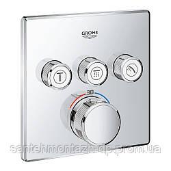 Grohtherm SmartControl Термостат встраеваемый на 3 выхода
