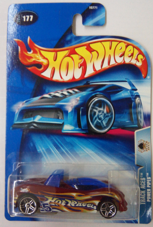 Машинка Hot Wheels 2004 Power Pipes