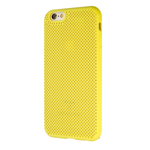 Чехол Silicone Case  Perforation for Apple iPhone 6/6S (yellow)