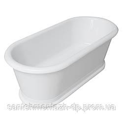 Ванна 180*85*63,5см, отдельно стоящая, акриловая, с сифоном
