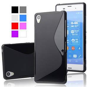 Чехол-Накладка DK-Case силикон Инь-Янь для Sony Z3 Compact (white)