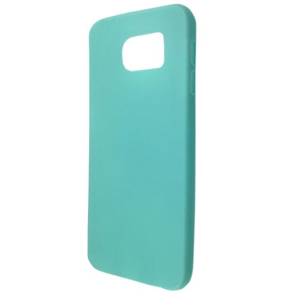 Чехол ultra slim matting TPU SAMSUNG S6 (mint)
