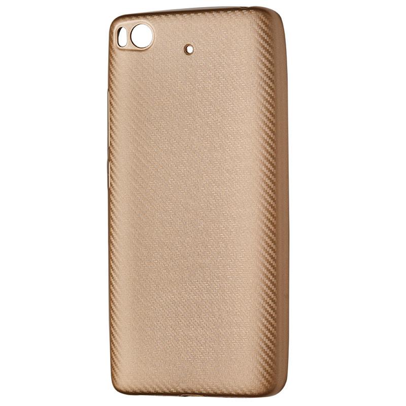 Чехол Carbon Xiaomi Mi 5S (gold)