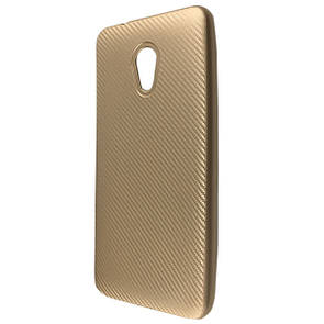 Чехол Carbon Meizu M5S (gold)