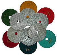 """Полировочные номера алмазные для ручного инструмента (болгарки) - """"липучки"""""""