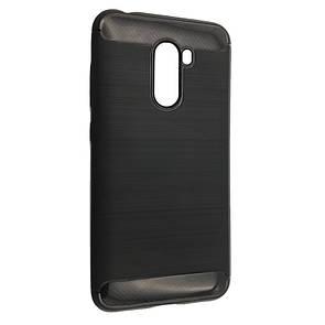 Чехол Carbon Steel Xiaomi Pocophone F1 (black)