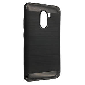 Чехол-накладка DK-Case силикон Carbon Steel для Xiaomi Pocophone F1 (black)