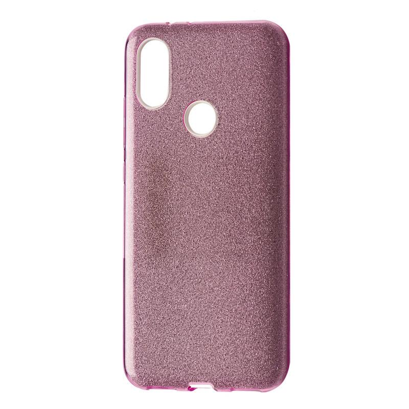 Чехол Silicone Glitter Heaven Rain Xiaomi Mi A2 Lite (Redmi 6 Pro) (pink)