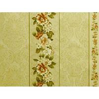 Обои на стену, дуплекс, ансамбль, 874-05, цветок полоса, 0,53*10м