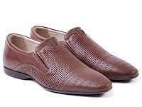 ETOR туфли коричневые