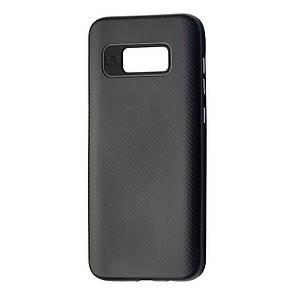 Чехол-Накладка DK-Case силикон с пластик бортом iPaky Cheap для Samsung S8 Plus (black)