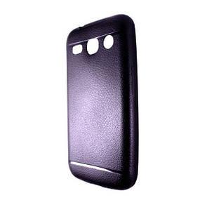 Чехол-накладка DK-Case силикон под кожу ultra slim для SAMSUNG G350E (black)
