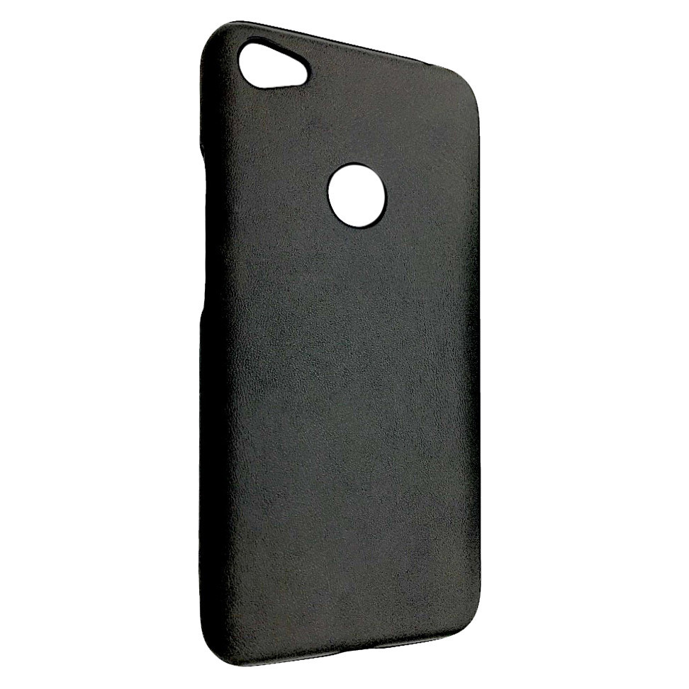 Чехол кожа открытая Xiaomi Redmi Note 5A Prime (black)
