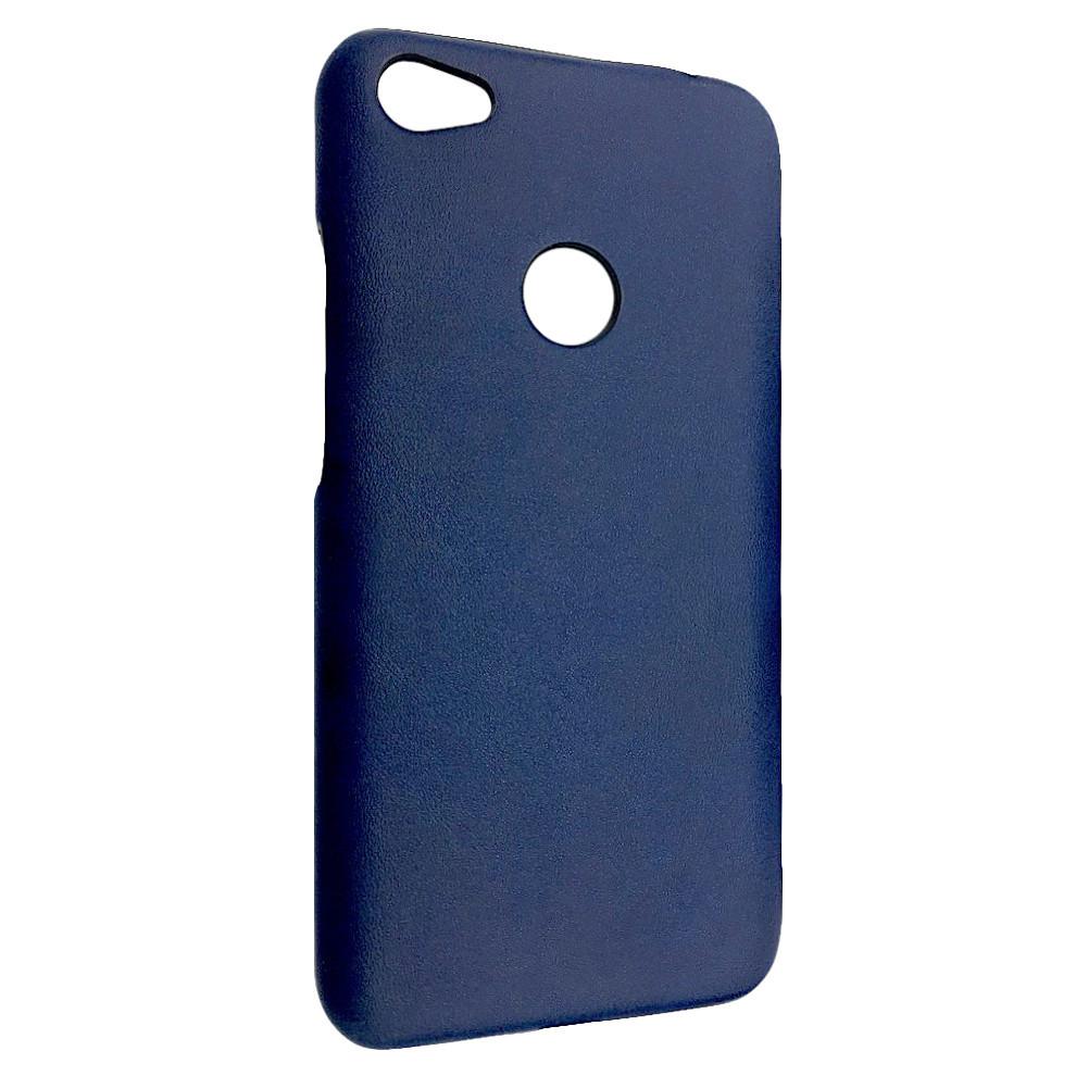 Чехол кожа открытая Xiaomi Redmi Note 5A Prime (blue)