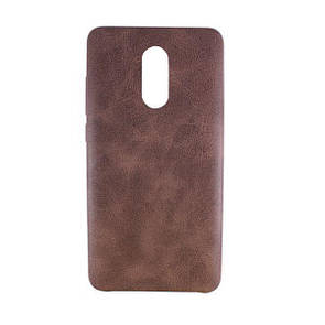 Чехол-накладка DK-Case кожа True Leather для Xiaomi Redmi Pro (brown)