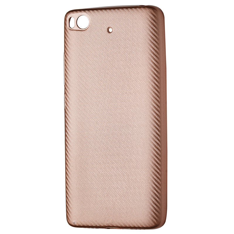 Чехол Carbon Xiaomi Mi 5S (rose gold)