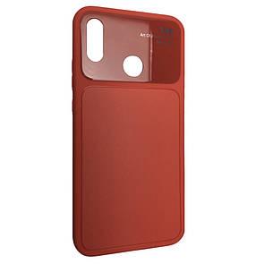 Чехол стекло Totu Arte Huawei P20 Lite (red)