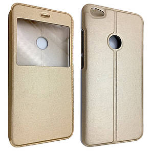 Чехол-книжка DK-Case кожа с пластиком Flip Cover Stitched для Xiaomi Redmi Note 5A Prime (gold)