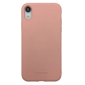 Чехол Silicone Hana Molan Cano Apple iPhone XR (pink)