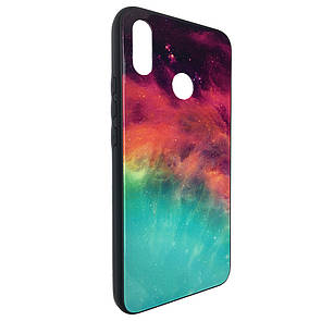 Чехол Glass Case Cosmos Huawei P Smart Plus (01)