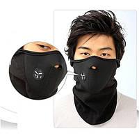 Флисовая лыжная маска, защита лица от обморожения