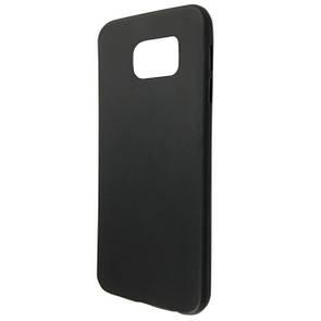 Чехол-накладка DK-Case силикон ultra slim matting TPU для SAMSUNG S6 EDGE (black)