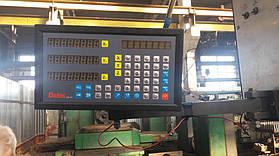 Установка оптических линеек DLS и цифровой индикации DELOS DS-3V на горизонтально-расточной станок станок 2622В 1