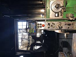 Установка оптических линеек DLS и цифровой индикации DELOS DS-3V на горизонтально-расточной станок станок 2622В 3