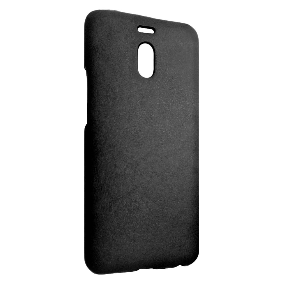 Чехол кожа открытая Meizu M6 Note (black)