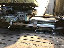 Установка оптических линеек DLS и цифровой индикации DELOS DS-3V на горизонтально-расточной станок станок 2622В 9